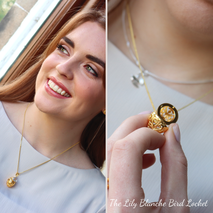 Graduation Gifts For Her: Gold Locket Necklace